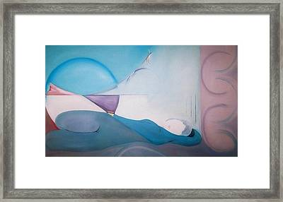 Framed Print featuring the painting The Essence Of Temptation by Jodie Marie Anne Richardson Traugott          aka jm-ART