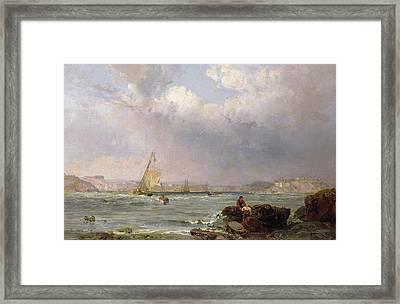 The Estuary  Framed Print by Samuel Phillips Jackson