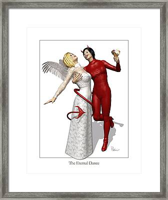 The Eternal Dance Framed Print