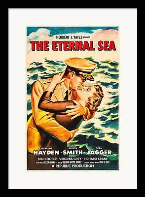 1950s Poster Photographs Framed Prints