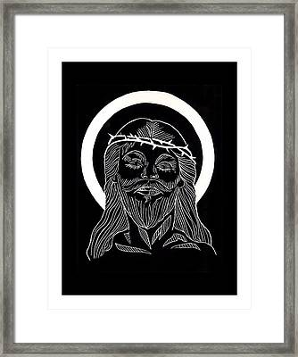 The Eucharist Framed Print by Peter Melonas