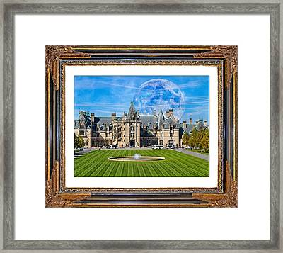 The Evening Begins At Biltmore Framed Print by Betsy Knapp