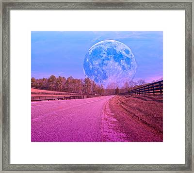 The Evening Begins Framed Print