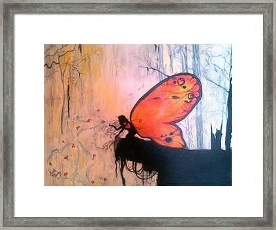 The Everlasting Butterfly Framed Print by Michelle and Jeanne Reid