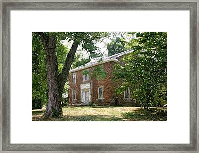 The Ewing Female Institute - Perryville Ky Framed Print by Thia Stover
