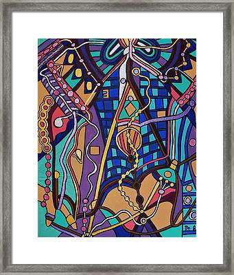 The Exam Framed Print by Barbara St Jean