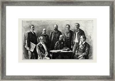 The Executive Council Of Western Australia, 1889 Hon. J.g Framed Print by Litz Collection