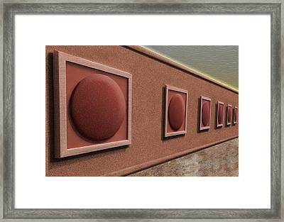 The Exhibition Framed Print by Paul Wear