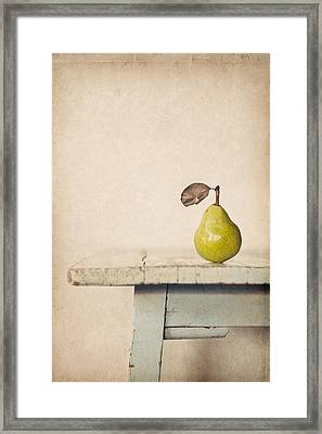 The Exhibitionist Framed Print