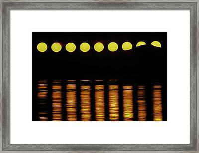 The Exotic Motion Of The Midnight Sun Framed Print