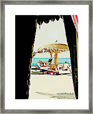 The Expats Framed Print by Peter Waters