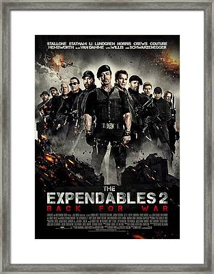 The Expendables 2  Framed Print
