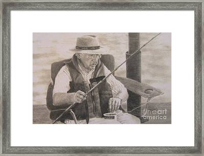 The Expert Framed Print by Mary Lynne Powers