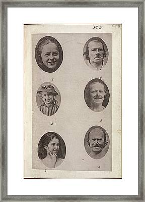The Expression Of The Emotions In Man And Framed Print by British Library