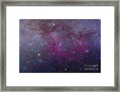 The Extensive Gum Nebula Area Framed Print by Alan Dyer