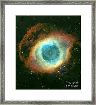 The Eye Framed Print by Odon Czintos