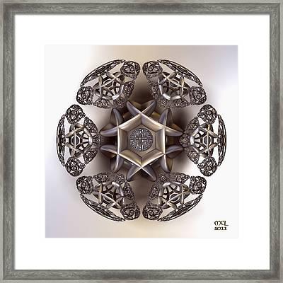 The Eye Of Harmony Framed Print by Manny Lorenzo