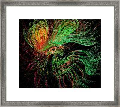 The Eye Of The Medusa Framed Print by Angela A Stanton