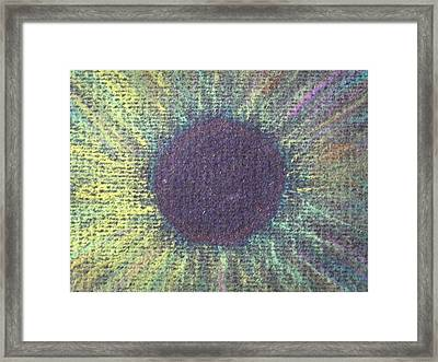 The Eye Of The One Detail Framed Print