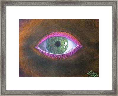 The Eye Of The One Framed Print