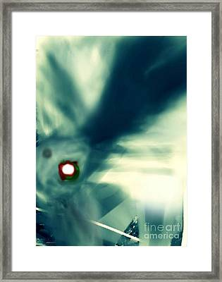 The Eye Of The Storm Framed Print by Rc Rcd