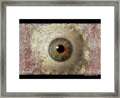 The Eyes 6 Framed Print by Holley Jacobs