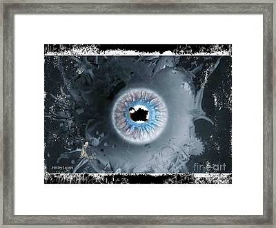 The Eyes 7 Framed Print by Holley Jacobs