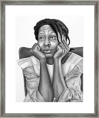 The Eyes Of The Beholder Framed Print by Ron Watson