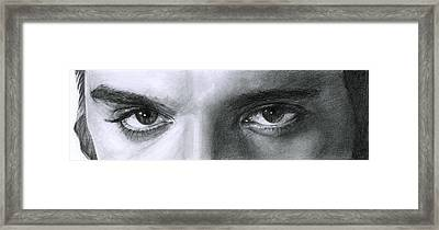 The Eyes Of The King Framed Print
