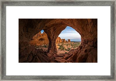 The Eyes Of The Mountain Framed Print