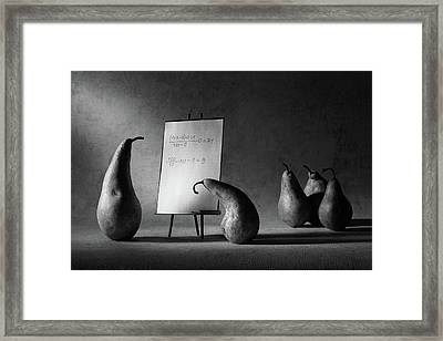 The F-mark Framed Print