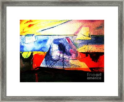 The Fabric Of My Heart Framed Print