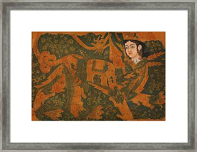 The Fabulous Creature Buraq Framed Print by Celestial Images