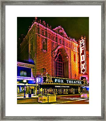 The Fabulous Fox In St. Louis Framed Print