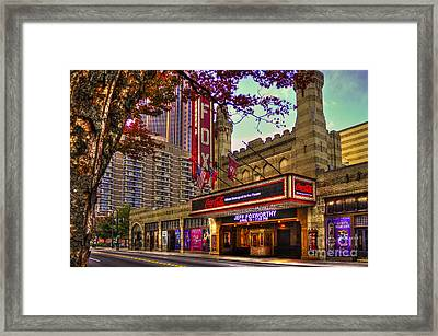 The Fabulous Fox Theatre Atlanta Georgia Framed Print by Reid Callaway