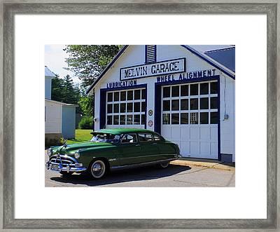 The Fabulous Hudson Hornet Framed Print