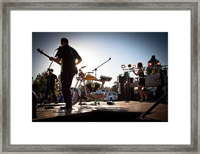 The Fabulous Kingpins - Pullman's 4th Of July Celebration Framed Print by David Patterson