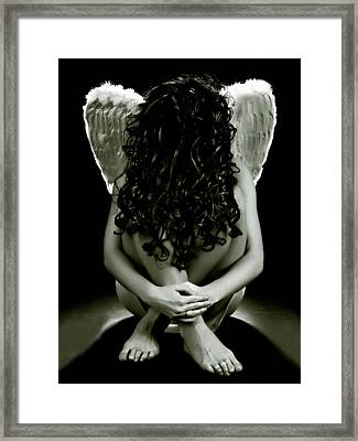 The Faceless Angel Framed Print by Thomas Berger