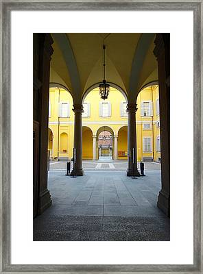 The Faculty Framed Print by Valentino Visentini