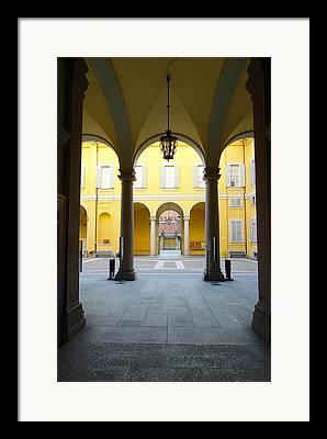 Faculty Entrance Framed Prints