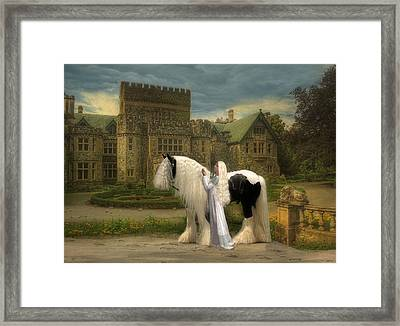 The Fairest Of Them All Framed Print