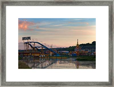 The Fairground ,tramore, County Framed Print by Panoramic Images