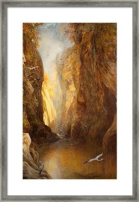 The Fairy Glen, Bettws-y-coed Framed Print