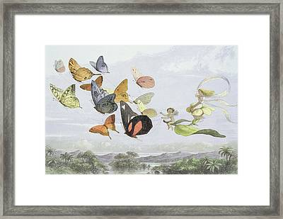 The Fairy Queen's Carriage Framed Print