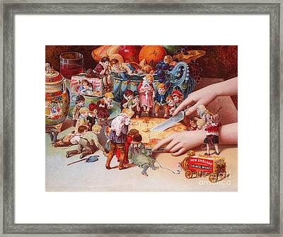The Fairys Pie Framed Print by American School
