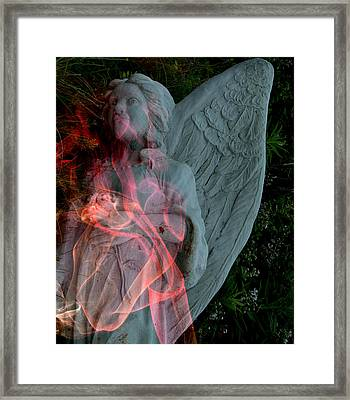 The Fallen Angel Framed Print by Irma BACKELANT GALLERIES