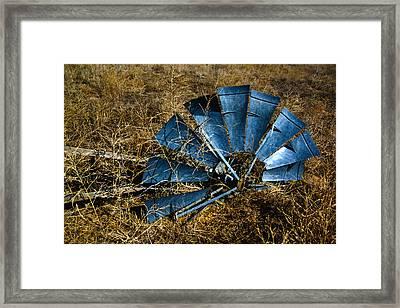 The Fallen - Hdr Framed Print