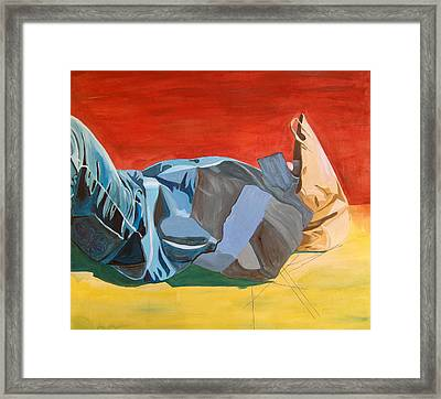 The Fallen Knight Of Lech Walesa Way Framed Print by Kevin Callahan