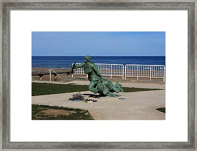 The Fallen Soldier Framed Print by Aidan Moran