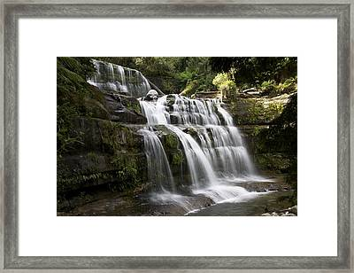 The Falling Framed Print